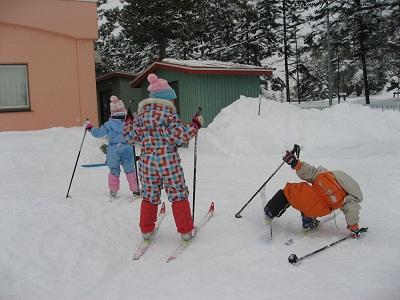 1月歩くスキー初日